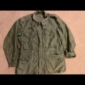 Vintage heavy duty army jacket